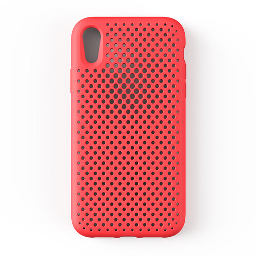 iPhone XR Mesh Case (BrightRed)
