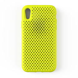 iPhone XR Mesh Case (LimeYellow)