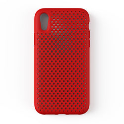 iPhone XR Mesh Case(Red)