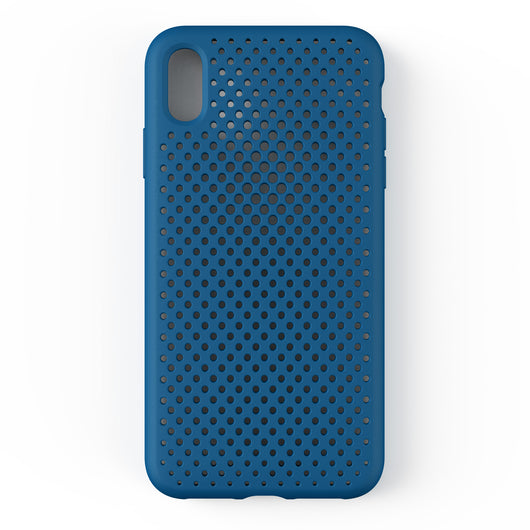 iPhone XS Max Mesh Case (CobaltBlue)