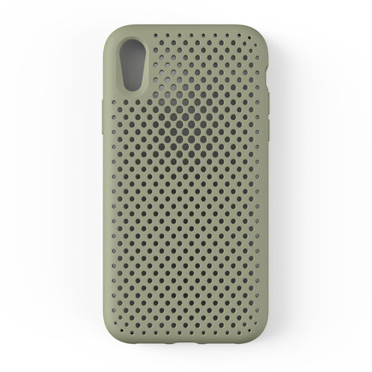 iPhone XR Mesh Case (ClayGreen)