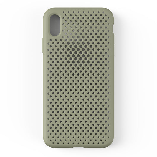 iPhone XS Max Mesh Case (ClayGreen)