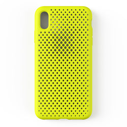 iPhone XS Max Mesh Case (LimeYellow)