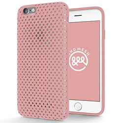 iPhone 6/6s ケース - Mesh Case【USAモデル】 (ピンク)