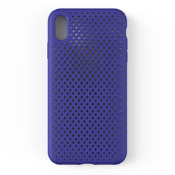 iPhone XS Max Mesh Case (NeoBlue)