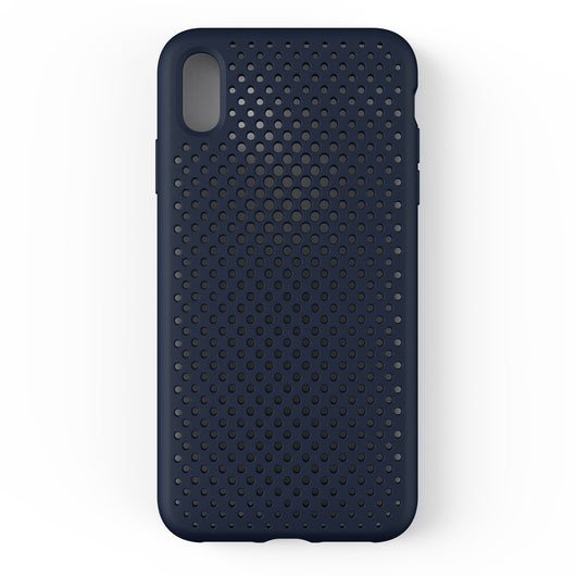 iPhone XS Max Mesh Case (Navy)