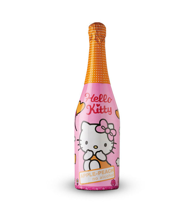 Hello Kitty Apple Peach 0,75l