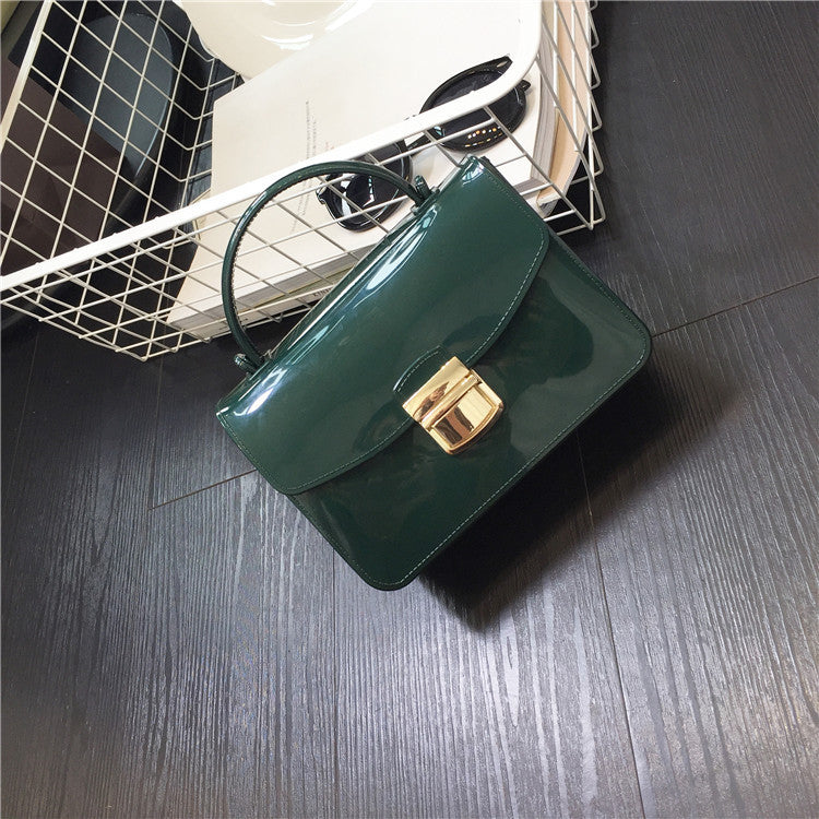 Fashion handbag women chain small women Messenger Bag Shoulder Bag candy  color girls mini flap jelly bag 1c43adfe4b41c