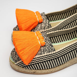 Jute Espadrilles - Eugenia with Tassels
