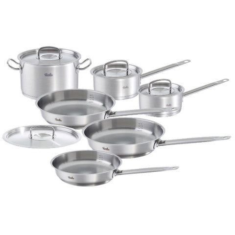 fissler original profi stainless steel 10 piece cookware set cookware sets pro. Black Bedroom Furniture Sets. Home Design Ideas