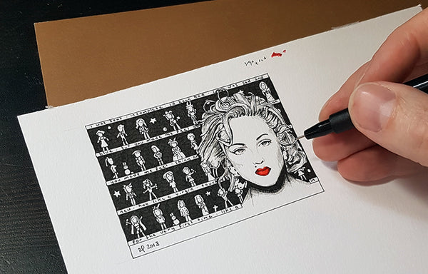 Madonna ACEO Print - The Tiny Art Co