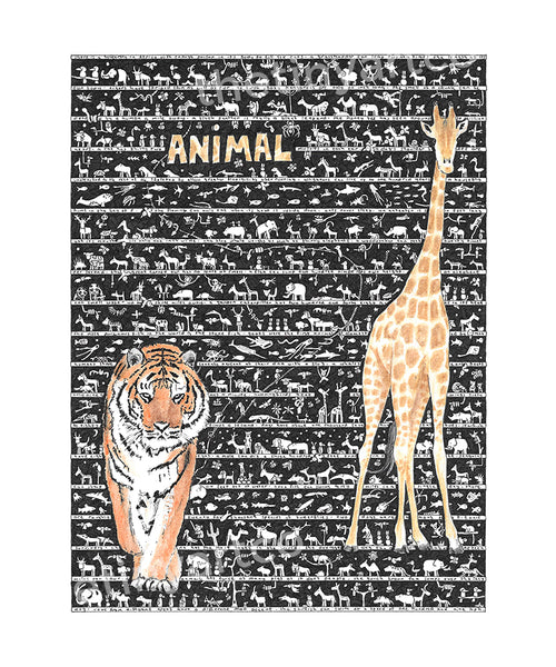 Animal SUPERSIZE Art Print