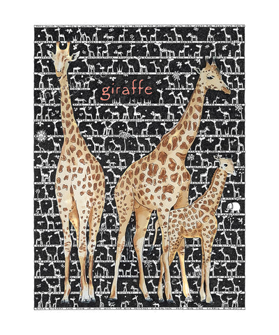 Giraffe Art Print - The Tiny Art Co