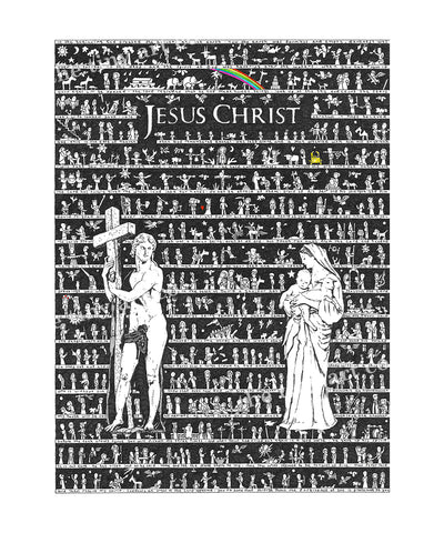 Jesus Christ Art Print - The Tiny Art Co