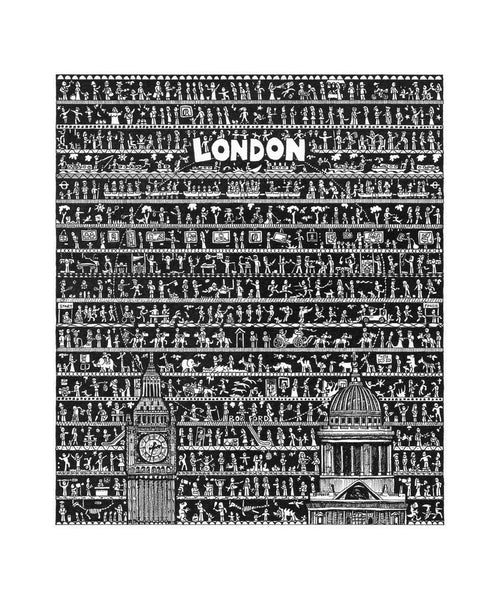 London Art Print - The Tiny Art Co
