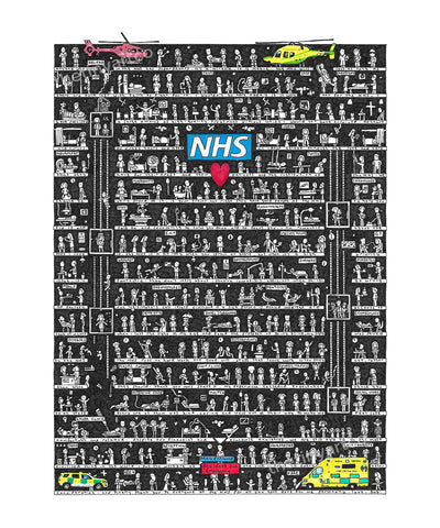NHS Art Print - The Tiny Art Co
