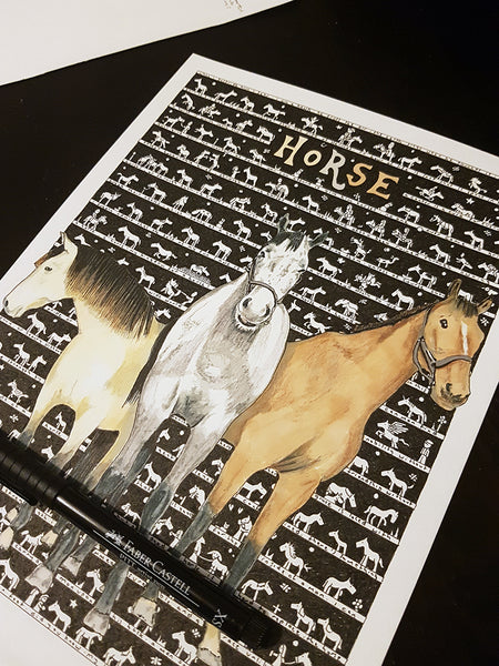 Horse SUPERSIZE Art Print