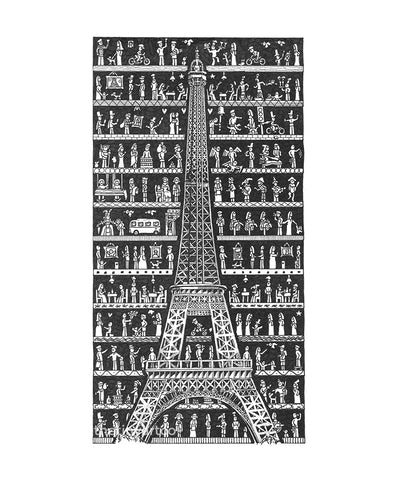 Paris Art Print - The Tiny Art Co