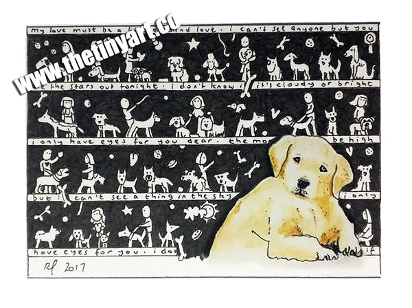Dogs ACEO Print - The Tiny Art Co