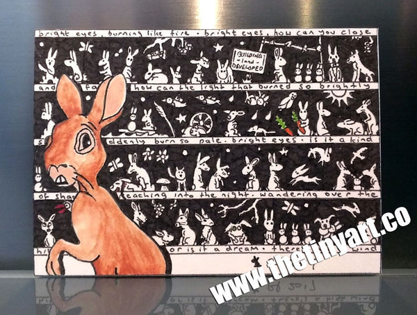 Watership Down ACEO Print - The Tiny Art Co