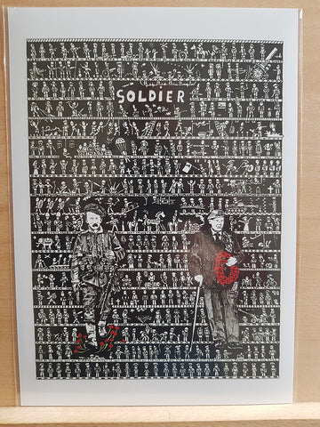 Soldier Test Print - The Tiny Art Co