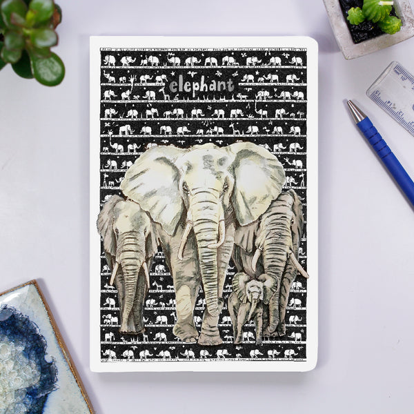 Notebook - Elephant - The Tiny Art Co