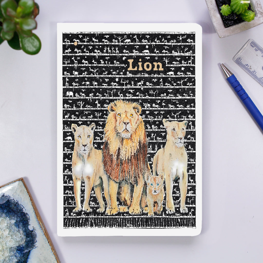 Notebook - Lion - The Tiny Art Co