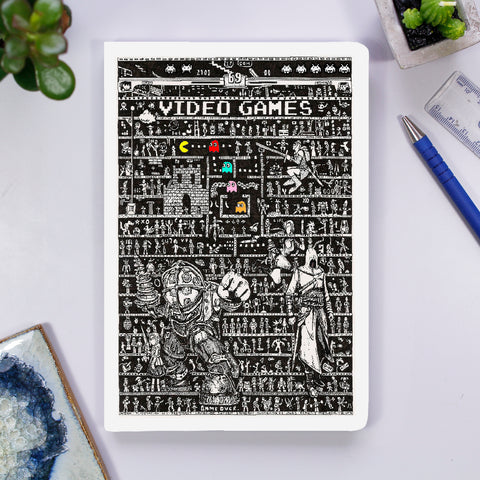 Notebook - Video Games - The Tiny Art Co
