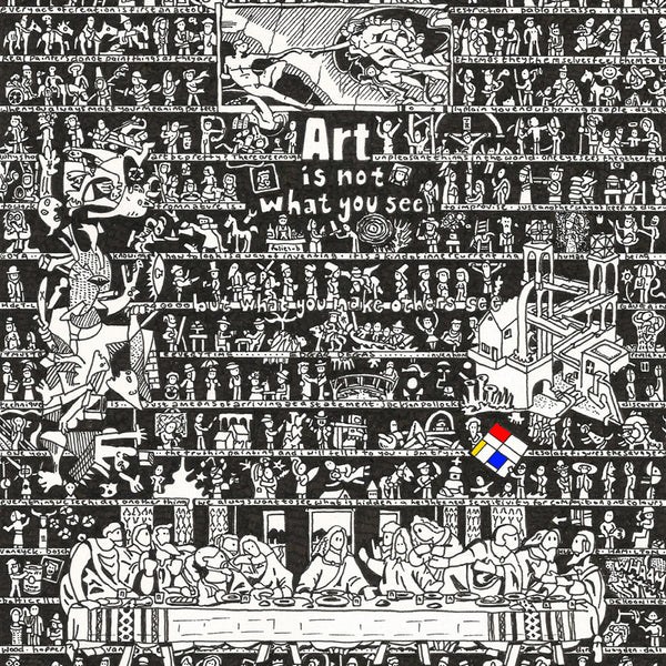 Art History Art Print - The Tiny Art Co