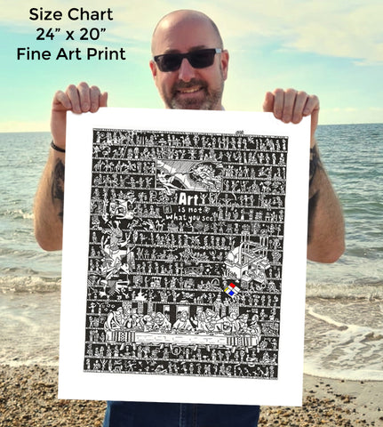 Art History SUPERSIZE Art Print