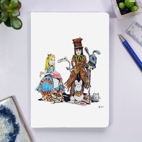 Notebook - Alice in Wonderland