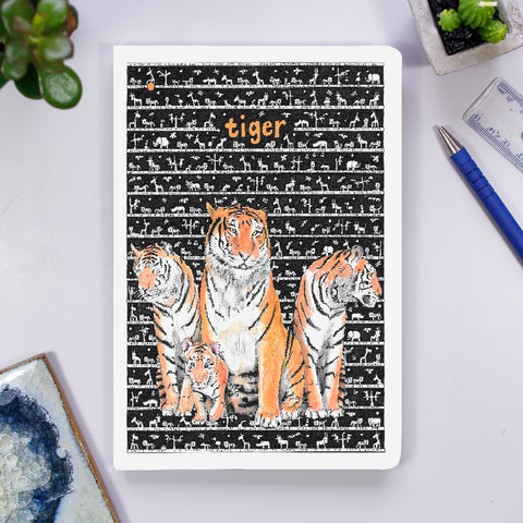 Notebook - Tiger - The Tiny Art Co