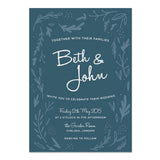 Midnight Hedgerow Wedding Invitations