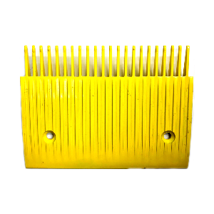 Schindler RSH Side Yellow Aluminum Comb Plate - Neeep