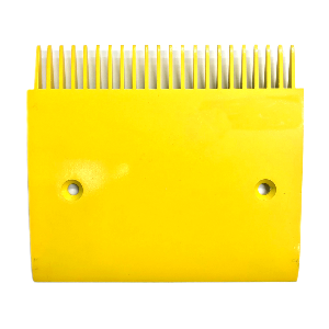 Schindler 9500 Side Yellow Aluminum Comb Plate - Neeep
