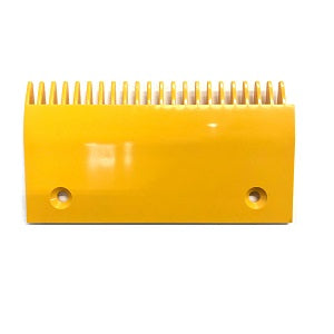 Schindler Right/Center Side Yellow Plastic Comb Plate - Neeep