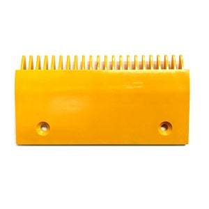Schindler Left Side Yellow Plastic Comb Plate - Neeep