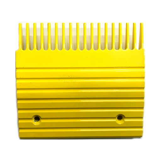 Otis J, UB Yellow Aluminum Comb Plate (6in 18T) - Neeep