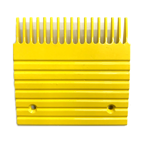 Otis J, UB Yellow Aluminum Comb Plate (5.75in 17T) - Neeep