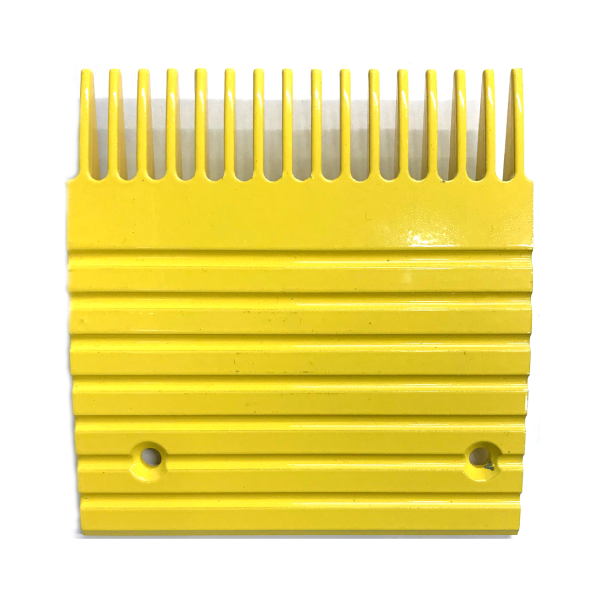 Otis J, UB Yellow Aluminum Comb Plate (5.4in 16T) - Neeep