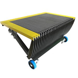 "Otis RB, RBC Step 24"" Wide Black with Yellow Painted Demarcation - Neeep"