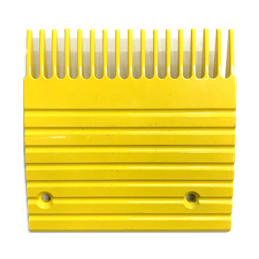 Otis J, UB Yellow Aluminum Comb Plate (5.6in 17T) - Neeep