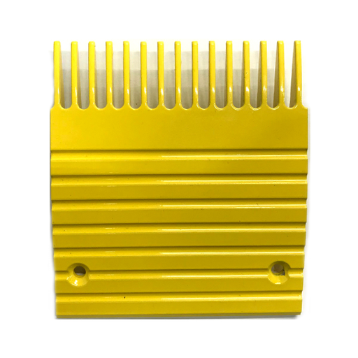 Otis J, UB Yellow Aluminum Comb Plate (5in 15T) - Neeep