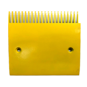 Schindler 9500 Center Yellow Aluminum Comb Plate - Neeep