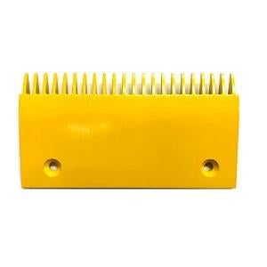 Schindler 9300 Comb Plate Yellow Aluminum (Heating Compartment) - Neeep