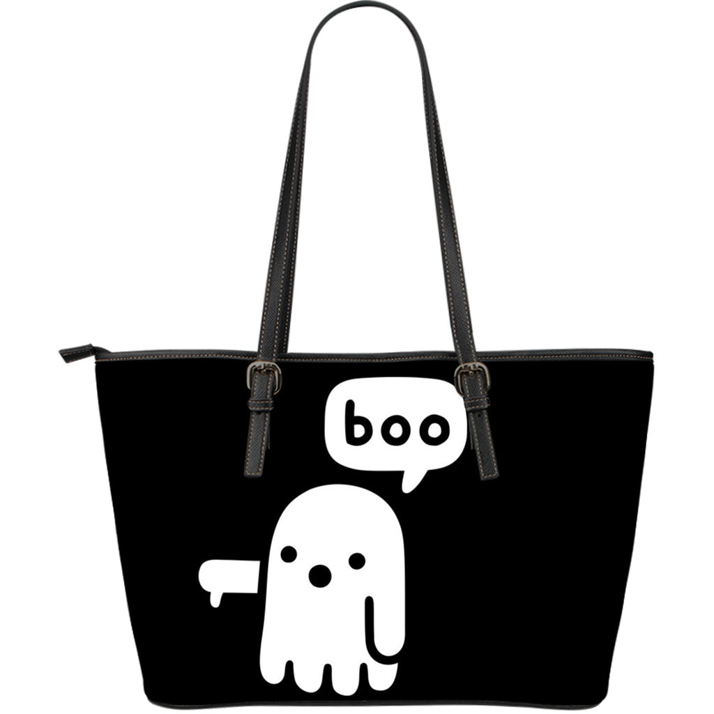 BOO Leather Tote Bag - Large