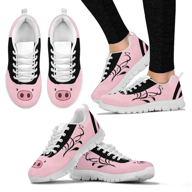 Women's cute Piggy Sneakers