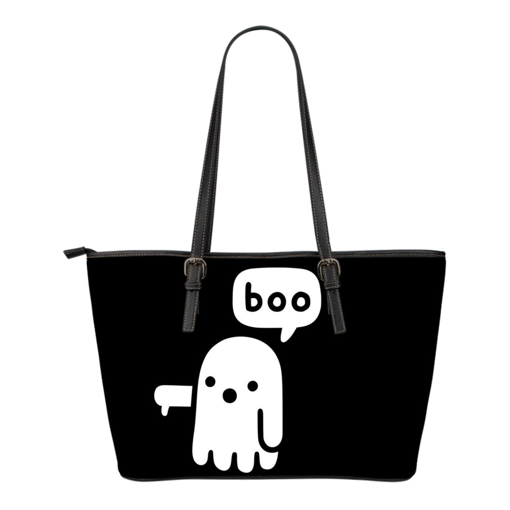 Boo Leather Tote Bag - Small