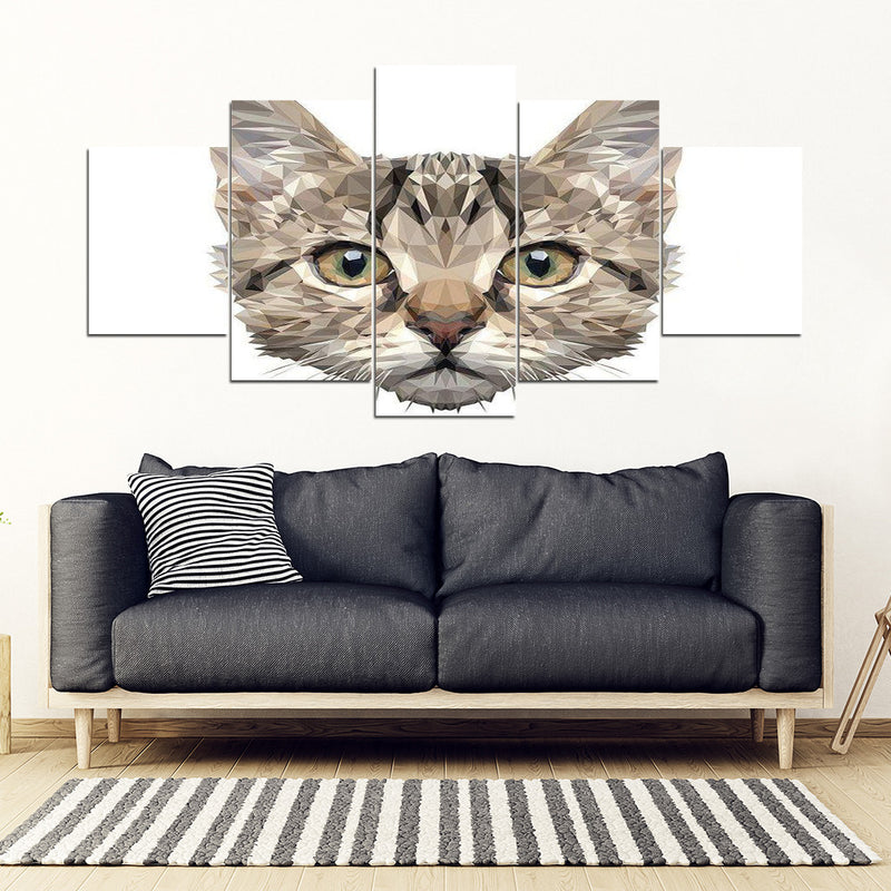 A Cat Face Wall Art