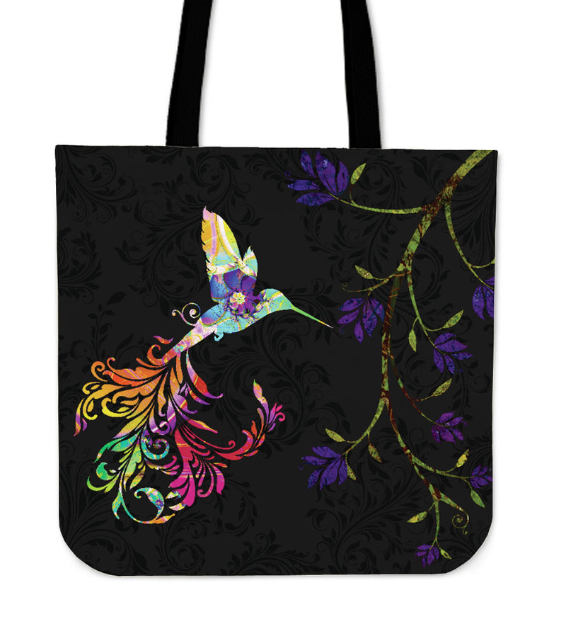 Painted Bird Tote Bag